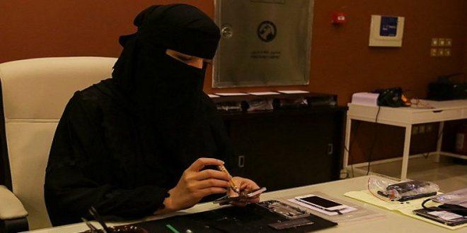 النساء العاملات في السعودية