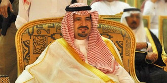 الأمير فهد بن بدر بن عبدالعزيز؛ أمير منطقة الجوف