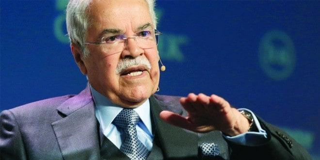 المهندس علي النعيمي؛ وزير البترول والثروة المعدنية السابق والمستشار بالديوان الملكي