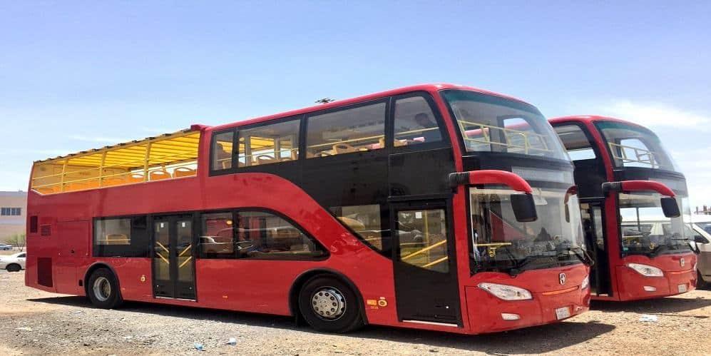 """""""الباص السياحي"""" ينطلق قريبًا في المدينة المنورة   مجلة رواد الأعمال"""