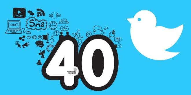 أربعون طريقة لإبراز شركتك على تويتر