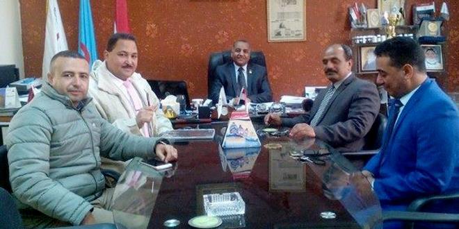 بروتوكول تعاون بين مجلس علماء وصناع العرب والمجلس الوطني للتدريب والإنماء