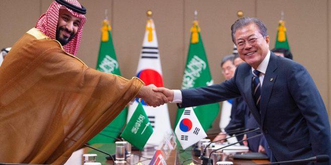زيارة ولي العهد إلى كوريا الجنوبية