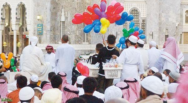 المملكة تستقبل عيد الفطر بأجواء احتفالية تطغى على مناطقها | مجلة رواد  الأعمال