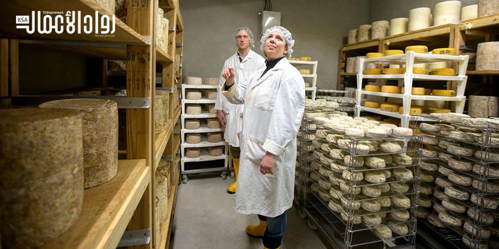 مشروع معمل صناعة الأجبان