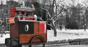 مشروع عربة القهوة المتنقلة