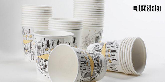 تفاصيل.. دراسة جدوى مشروع تصنيع الأكواب الورقية