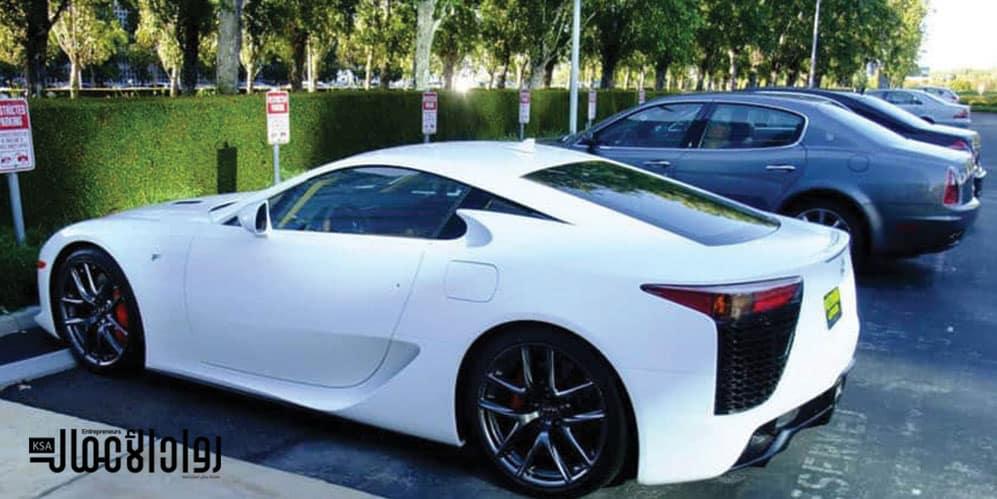 سيارات أثرياء العالم