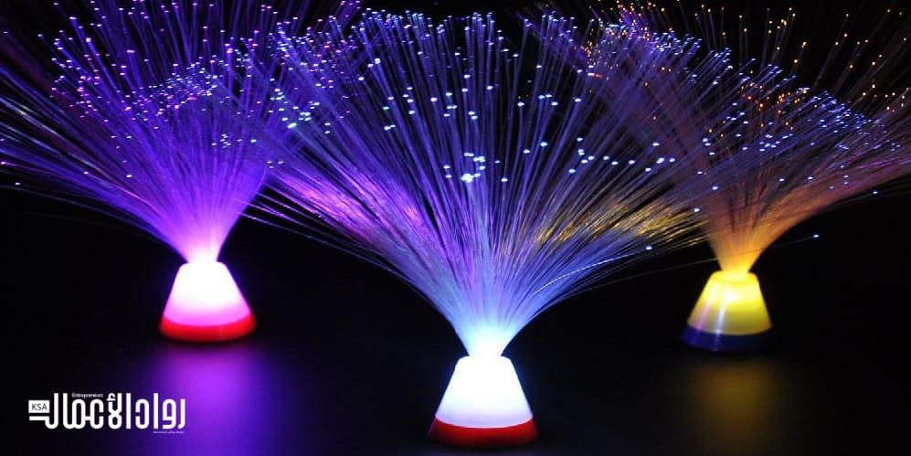 دراسة جدوى مشروع تصميم الألياف الضوئية