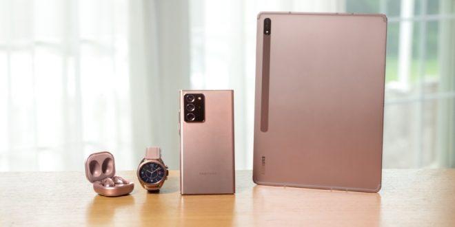 Samsung تزيح الستار عن هواتف الجديدة في مؤتمرها السنوي