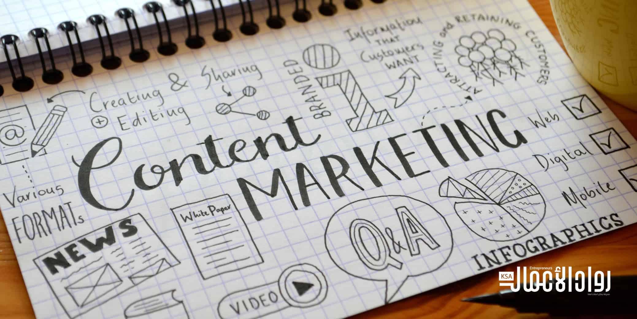 كيف تسوق المحتوى