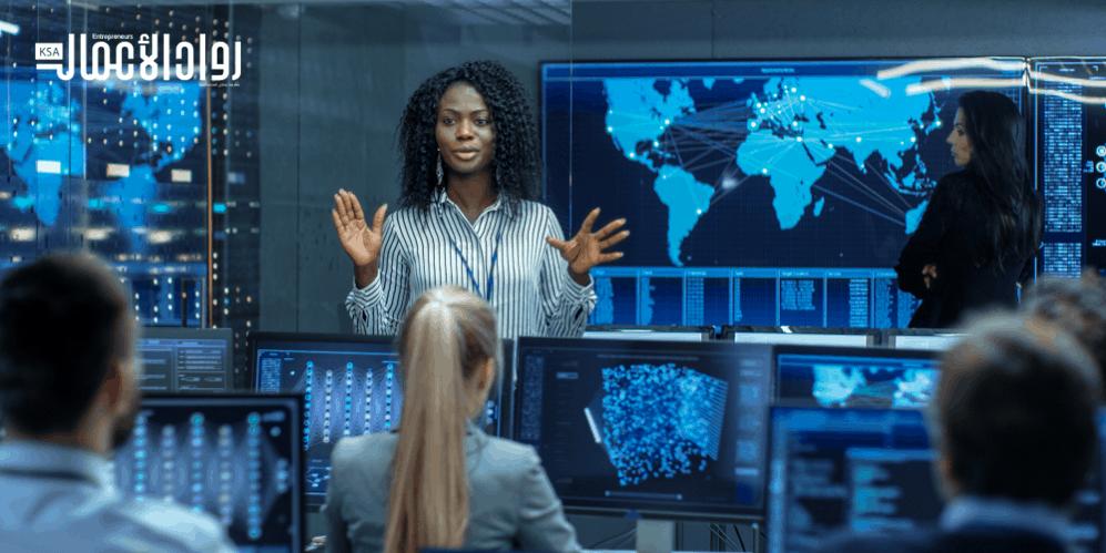 المرأة في مجالات الأمن السيبراني.. تمكين وتطلعات