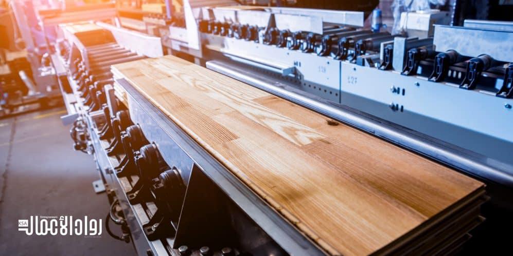 مشروع إنتاج الخشب