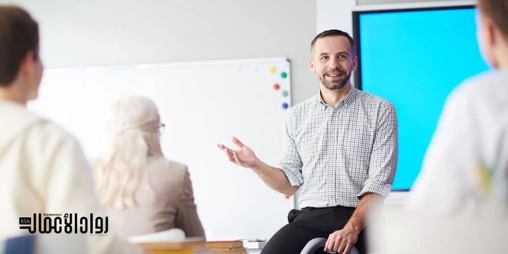 تدريس ريادة الأعمال