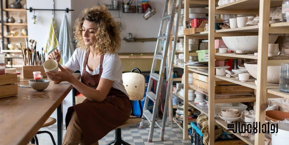 أفكار مشاريع مربحة في مجال الأشغال اليدوية