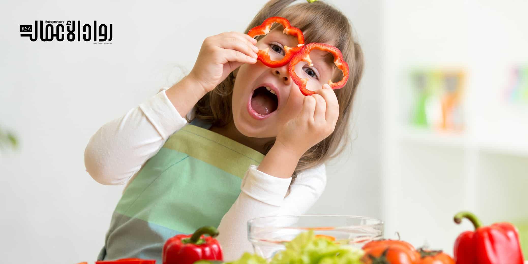 مشروع بيع أطعمة الأطفال