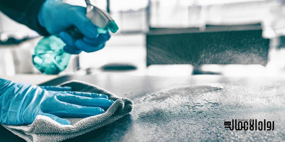 طرق نظافة مكان العمل ومنع انتشار الفيروسات