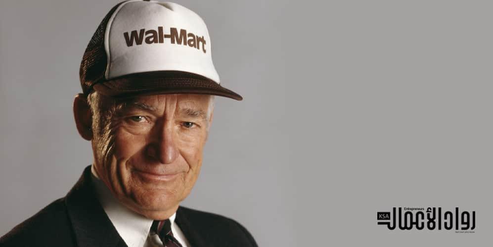 سام والتون.. مؤسس متاجر وال مارت