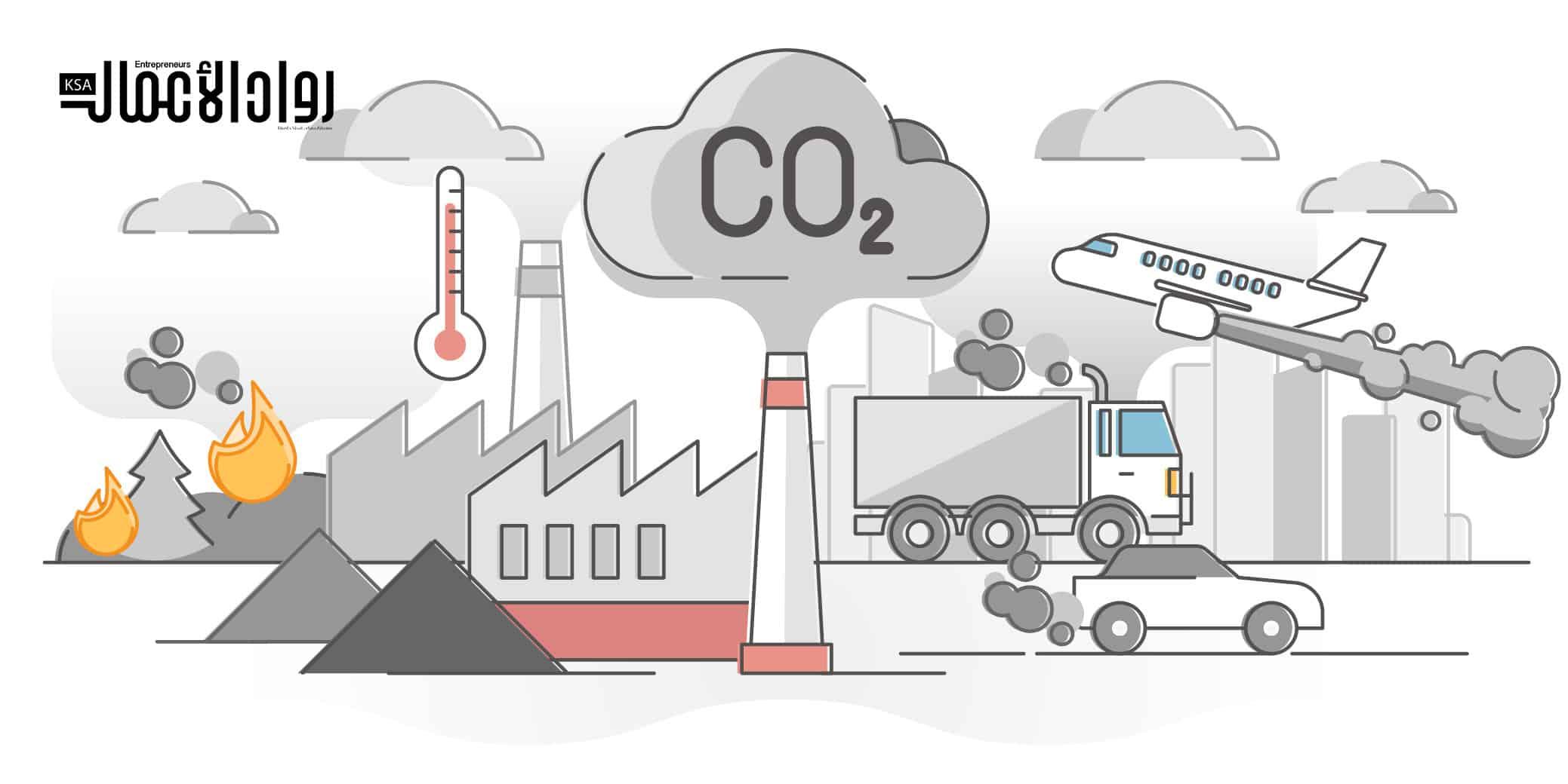 استخلاص انبعاثات الكربون