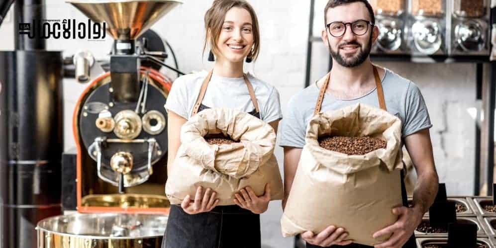 مشروع بيع القهوة