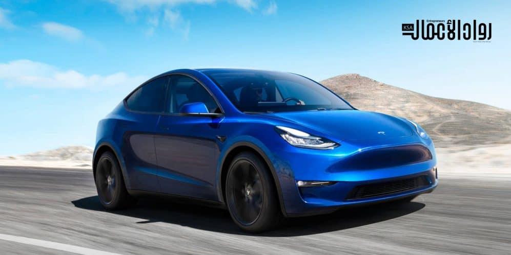مميزات سيارة Tesla Model Y 2021.. رفاهية القيادة والشحن
