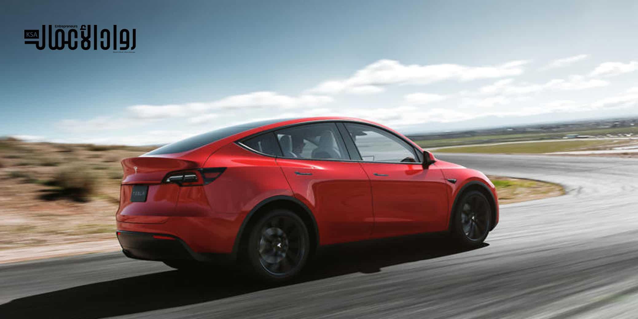 سيارة Tesla Model Y 2021
