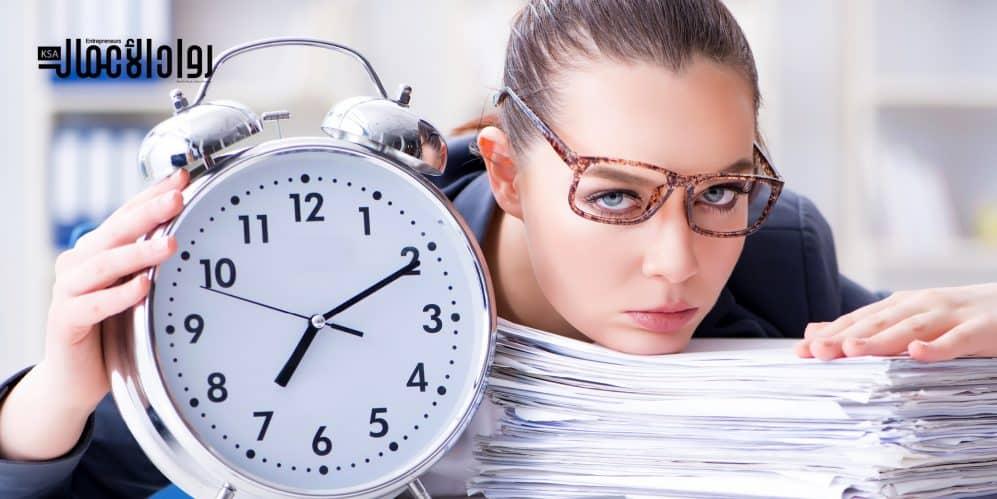 تنظيم الوقت للمرأة العاملة