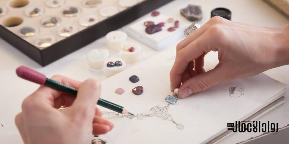 مشروع صناعة المجوهرات