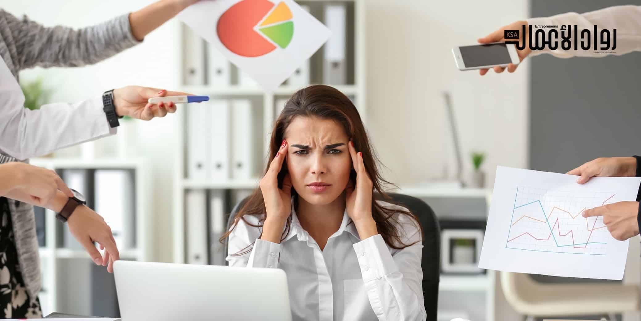 أضرار العمل المتواصل