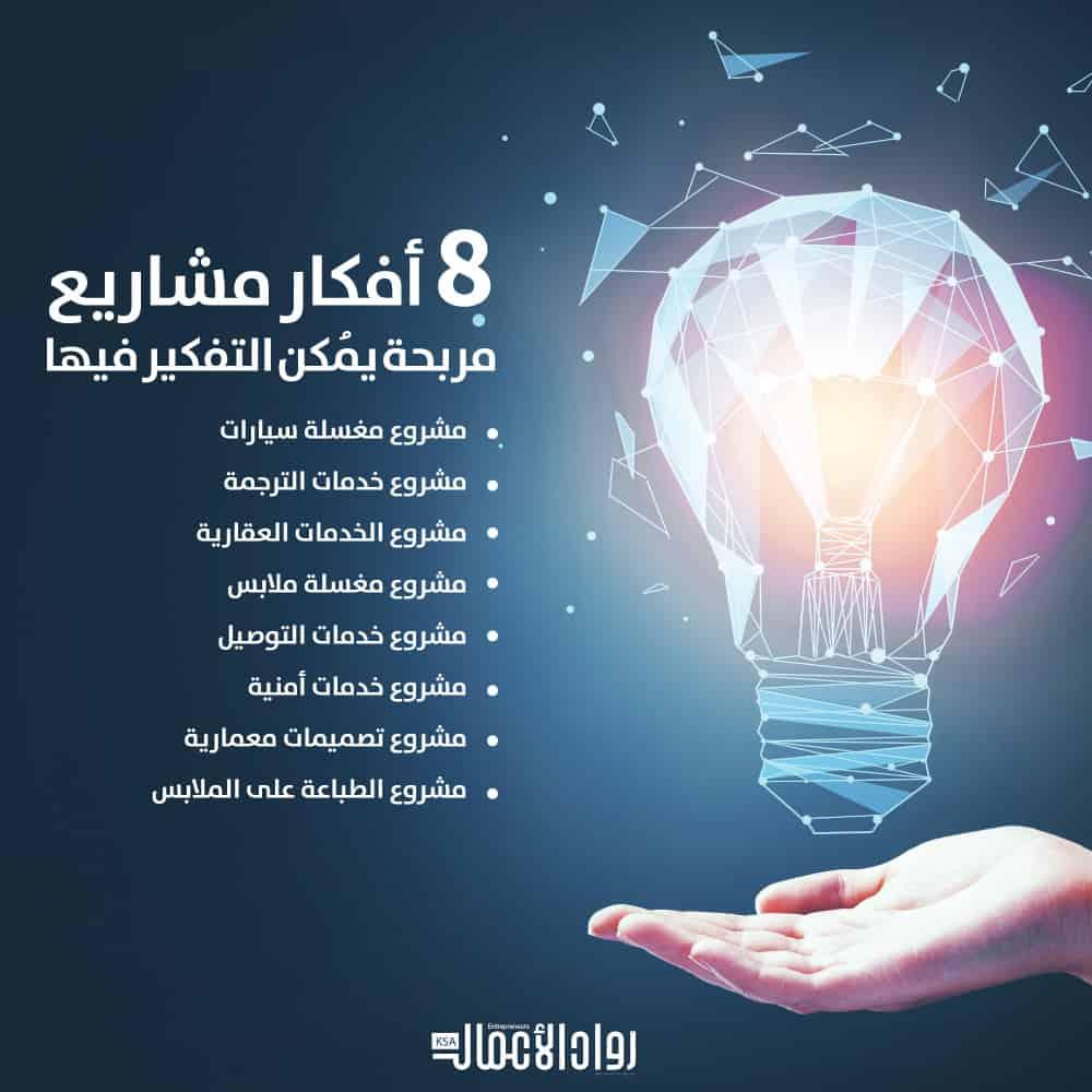 أفكار مشاريع مربحة