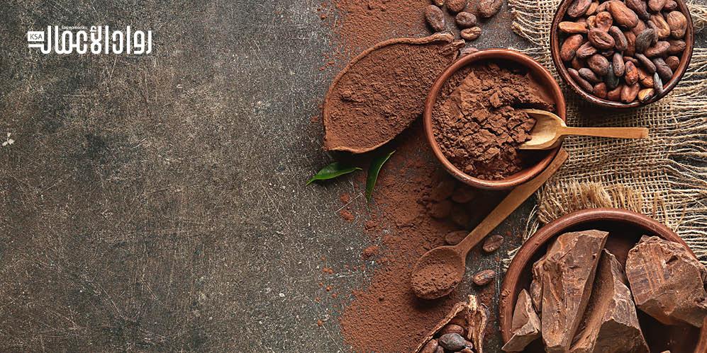 مشروع متجر لتقديم الشوكولاتة