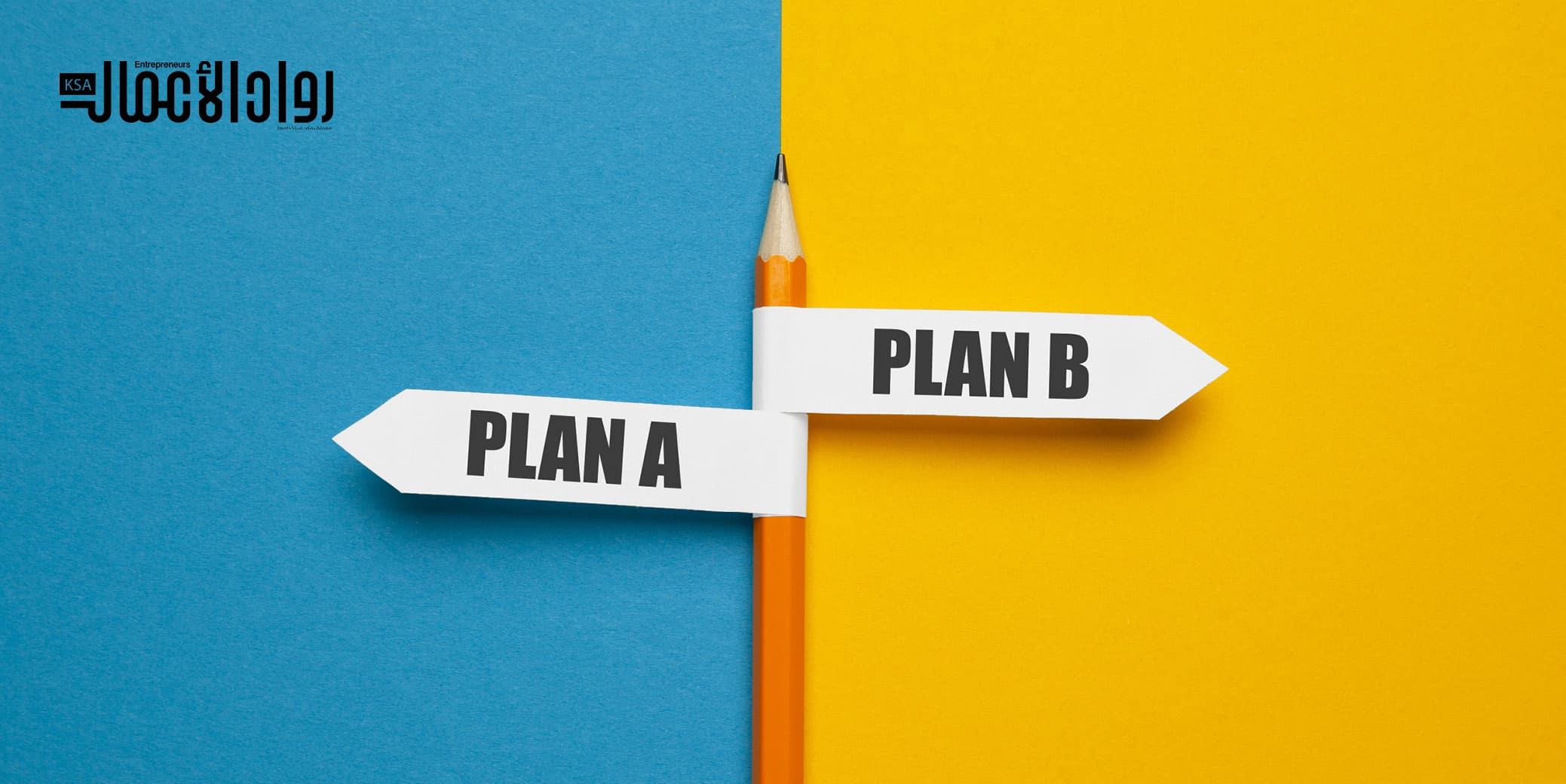 مخاطر الخطة البديلة