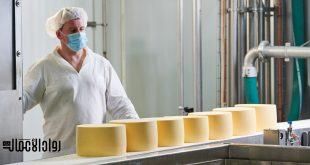 مصنع لمنتجات الألبان
